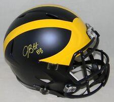 Jake Butt Signed Autographed Michigan Wolverines Full Size Speed Helmet Jsa