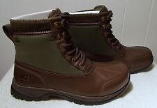 NEW UGG Boots EAGLIN Stout Brown Men's Size 8
