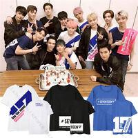 KPOP Seventeen 17 SAY THE NAME T-shirt VERNON Tshirt Unisex DINO Tee Cotton Tee