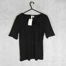 New! Stunning! H&M Black Summer Casual Top/Blouse Size S Style Women Fashion