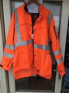 New boxed Stihl classic Hi Vis Jacket size L 45 inch chest non safety chainsaw