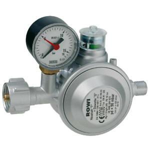 ROWI Niederdruckregler Gasdruckregler Druckminderer  für Heizöfen Innen Ofen
