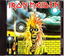 CD IRON MAIDEN s/t ITALY rare 1980 FAME EMI HEAVY METAL