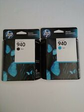 HP  940 Black & 940 Cyan Ink Cartridge  04/ 2014.expiration