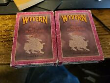 2 Wyvern CCG Starter Decks Limited Edition 1994 Lot Cards used