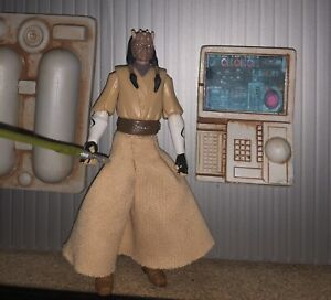 Star Wars Clone Wars CW51 Jedi Eeth Koth Loose Figure