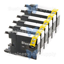 6 BLACK LC71 LC75 Compatible Ink Cartirdge for BROTHER Printer MFC-J435W LC75BK