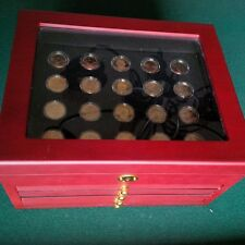 CASED PRESIDENTIAL COINS FROM CSN MINT / First 16 Presidents