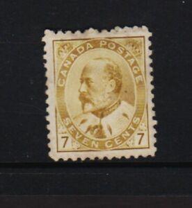Canada - Edw. VII - 7c. mint, cat. $ 275.00