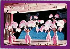 Stardust Las Vegas Strip Hotel Casino Vintage Postcard Show Time Showgirls NOS