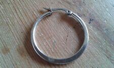 gebraucht ausstehend Silber- 1/2 Koppeln mit -förmige Ohrring Artikel für
