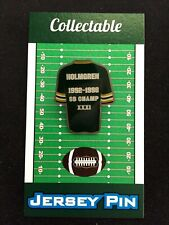 Green Bay Packers Mike Holmgren jersey lapel pin-Classic Collectible