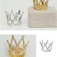 Mini Baby Crown Photography Prop Gold/Silver Headband Decor Fashion Memoria Q4D9