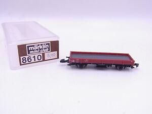 Lot 90505 Märklin Mini Club 8610 Low-Sided DB For Z Gauge Boxed