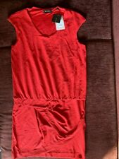 Cop. copine robe femme _ couleur rouge _ taille 42 it (10Uk)