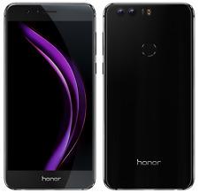 Huawei Honor 8 32GB Nero Dual Sim 5.2 Duos NUOVO ITALIA OCTACORE 4G Smartphone