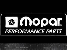 MOPAR Performance Parts Original Vintage Racing Decal/Sticker DODGE Plymouth Blk