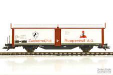 """ROCO H0 46648 / Schiebewandwagen Tbis """"Zuckermühle Rupperswil A.G."""" /SBB/wie neu"""