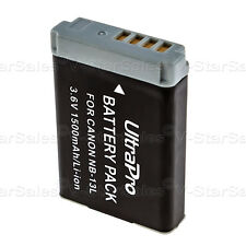 NB-13L NB13L 1500mAh Replacement Battery for Canon PowerShot G5X G7X G9X SX730