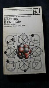 Baracca, Rossi: Materia e energia Antologia di testi Feltrinelli1978