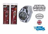 Star Wars The Force Awakens Digital Kids Wrist Watch Time & Date Storm Trooper