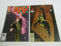 DC Comics Lot of 2 The Ray #1 from 1992 and 1994 series ('94 is FOIL COVER)