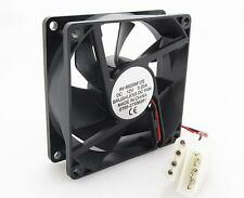 Brushless DC Cooling Fan 80mm x 80mm x 25mm 7 Blades 12V 8025 4-pin power supply