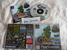 Croc Legend of the Gobbos PS1 (COMPLETE) Sony PlayStation black label platform