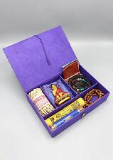 Traditional Tibetan Buddhist Travel Altar Christmas Gift Set