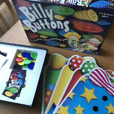 Billy Buttons Young Childrens Game Vintage Learning 2001 Educational Detexerity