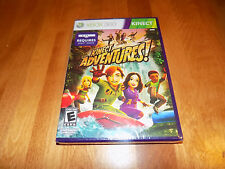 KINECT ADVENTURES! Microsoft XBox 360 Game E Adventure Games X-Box SEALED NEW
