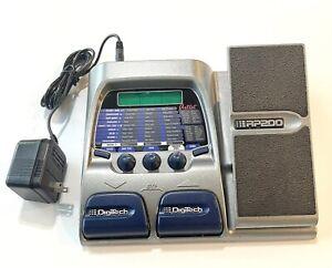 Digitech RP200 Amp Modeler Guitar Multi Effects Processor Pedal + Power Supply