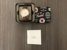 Neu Fossil Damen Uhr Leder BQ3408 New Women Watch Leather mit Garantie
