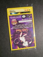 SEALED (Upside Down Error/Misprint) Pokemon PIKACHU Card BLACK STAR PROMO #4 WB