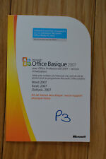 cle licence Microsoft office 2007 original basique word excel powerpoint