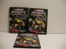 NASCAR DVDS (3) OFFICIALLY LICENSED ( watched once) FREE SHIP/GIFT