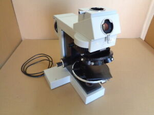 Incomplete Microscope with Base or Stand and Stage