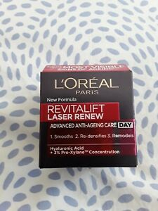 L'Oreal Revitalift Laser Renew Advanced Anti Ageing Care Day Cream - 50ml new