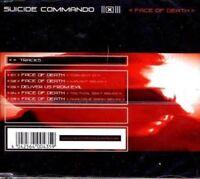 SUICIDE COMMANDO - FACE OF DEATH   CD SINGLE NEW!