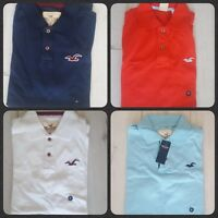 HOLLISTER BY ABERCROMBIE & FITCH MEN'S POLO T SHIRTS