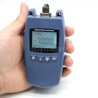 New Mini FTTH Fiber Optic Optical Power Meter TL-520A -70~+10dBm support FC SC