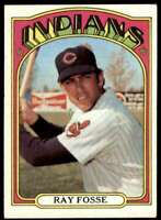 1972 Topps Ray Fosse Cleveland Indians #470