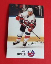 1988/89 Esso NHL All-Star Collection John Tonelli Card