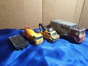 Matchbox diecast trucks & trailer c60s 70s