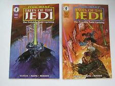 Star Wars Tales of the Jedi Freedon Nadd Uprising # 1-2 (Dark Horse 1994) VF+/NM