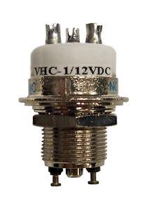 New Greenstone VHC-1  SPDT Vacuum Relay 12 VDC for RF Switching
