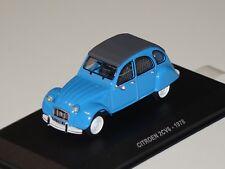 CITROEN 2cv6 1978 bleu 1:43 Solido 143632 NOUVEAU & NEUF dans sa boîte