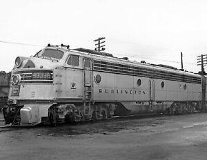 "1955 Electric Locomotive 9939B, Omaha, Nebraska Old Photo 8.5"" x 11"" Reprint"