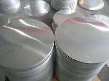 Lamiera, disco in alluminio diam. 250mmx3mm spessa 3mm,con taglio laser