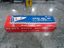 KO BOAT ELECTRIC DRIVE KIT FOR BOATS AND OTHER TOYS  NEW IN THE BOX OLD STOCK